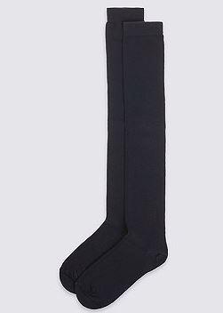 m&s knee high socks