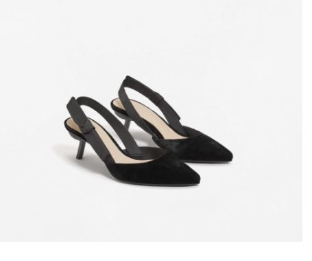 mango kitten heels