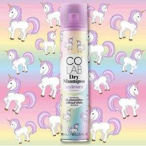 colab dry shampoo unicorn themed beauty products