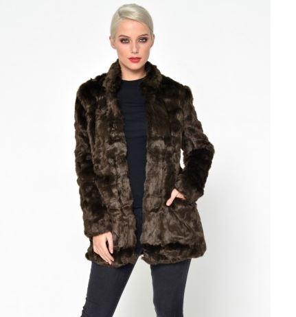 only faux fur