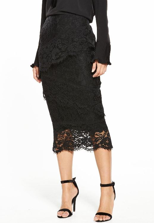 littlewoods ireland v by very holly willoughby skirt