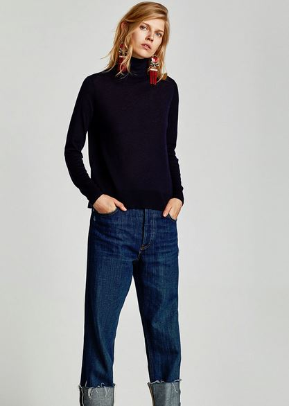 zara polo necks