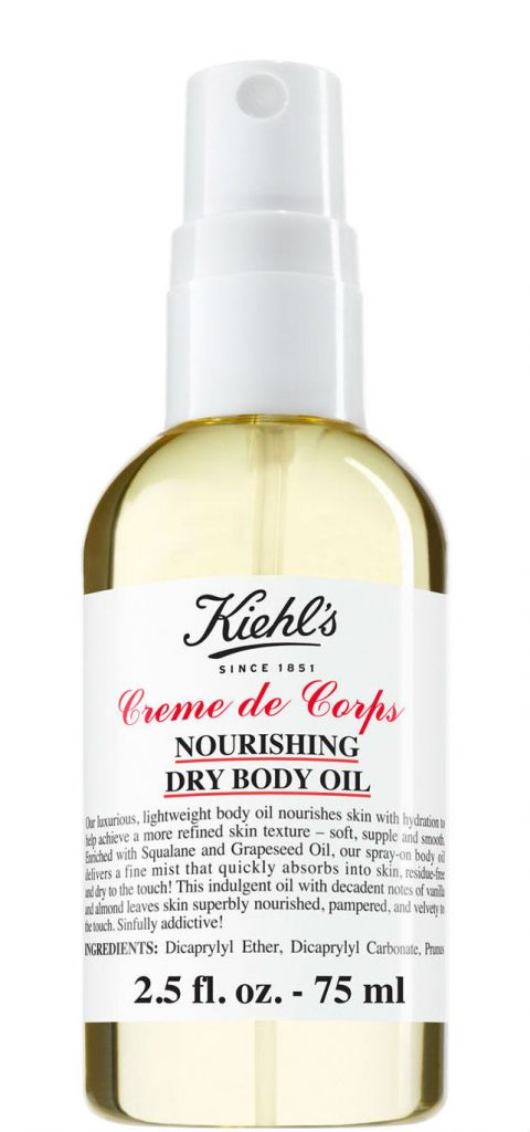 kiehl's non-greasy dry body oil