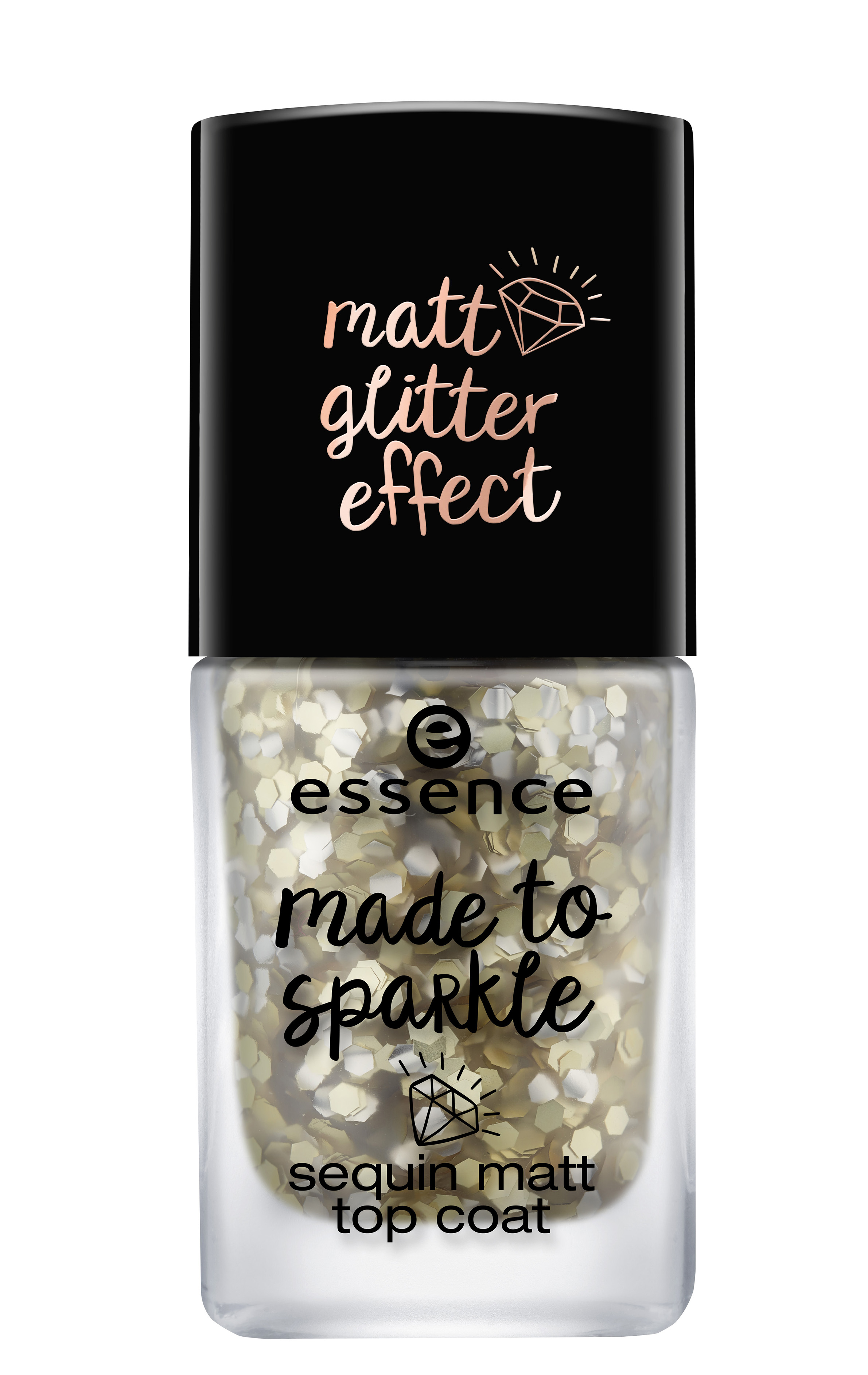 Party Season glitter nail top coat Essence