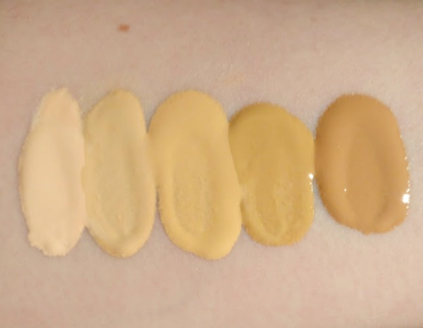 Lifeproof Foundation from Sleek swatches
