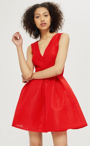 topshop little red dresses