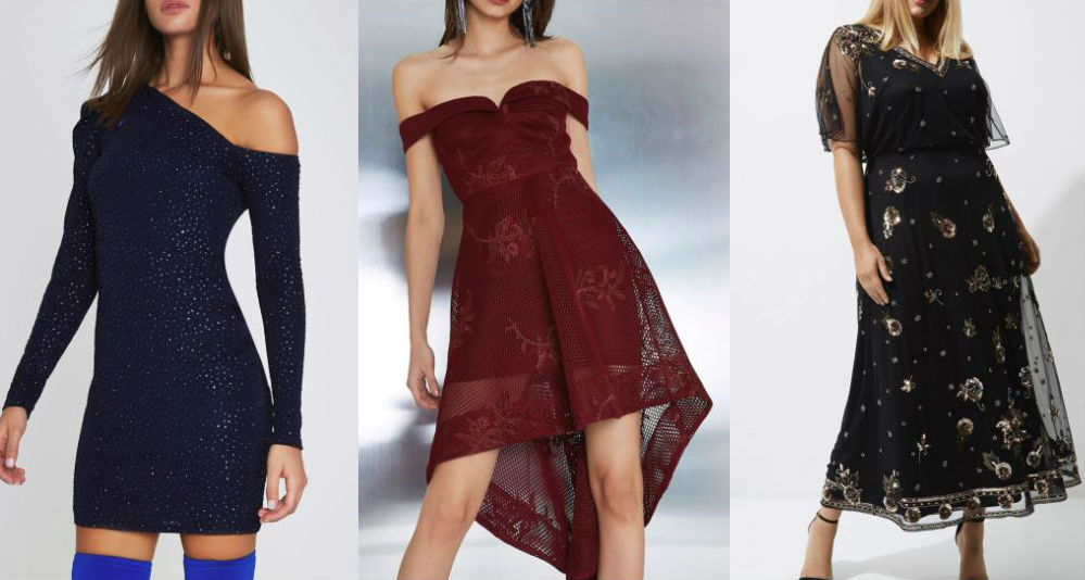 river island christmas party dresses