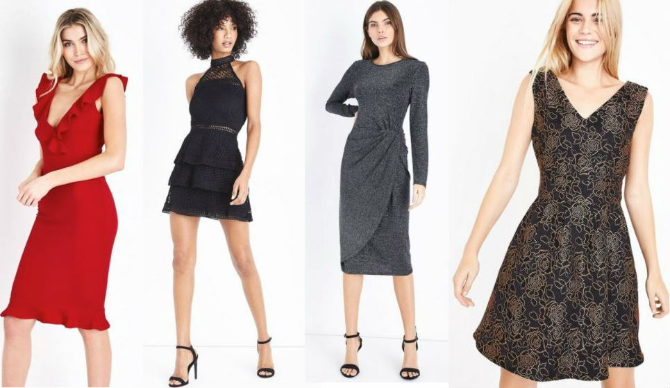 new look christmas party dresses