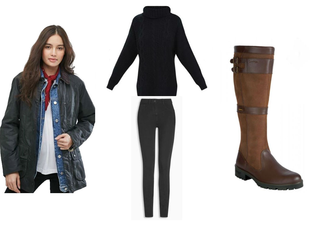 kate middleton country look