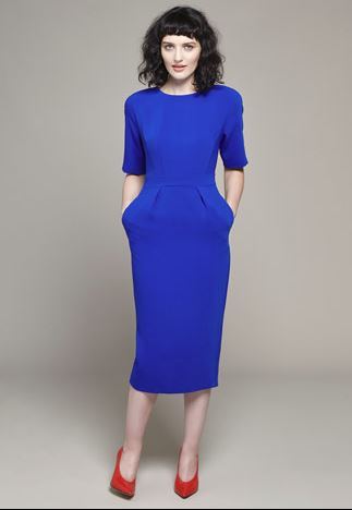 Lennon Courtney at Dunnes Stores Cobalt Tulip Dress Style €119.00