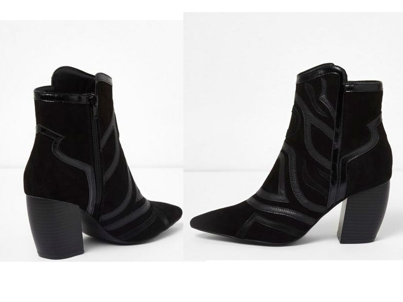 river island day to night ankle boots