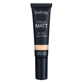 isadora natural matt foundations for any skin type