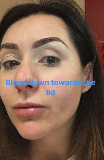 Christmas makeup tutorial 4