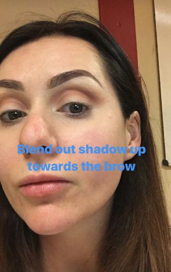 Christmas makeup tutorial 6