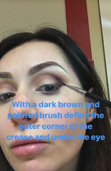 Christmas Makeup Tutorial 8