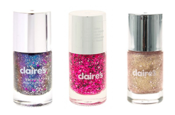 sparkly nail polish claires