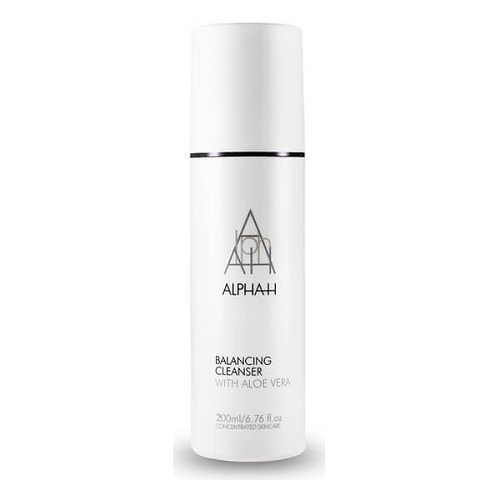 Alpha H Balancing Cleanser slept in your makeup