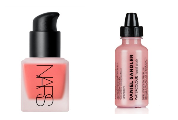 spring makeup liquid blushers