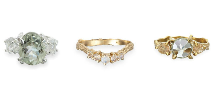 chupi alternative engagement rings