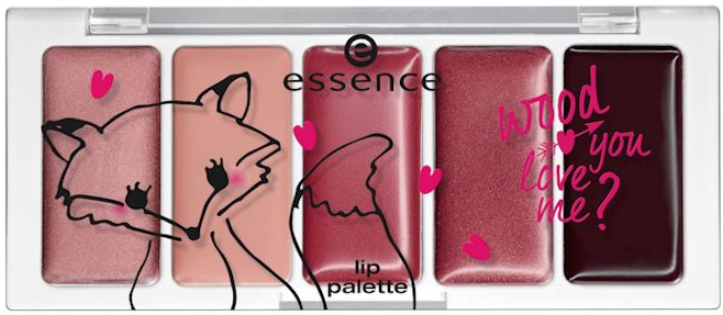 essence wood you love me lip palette
