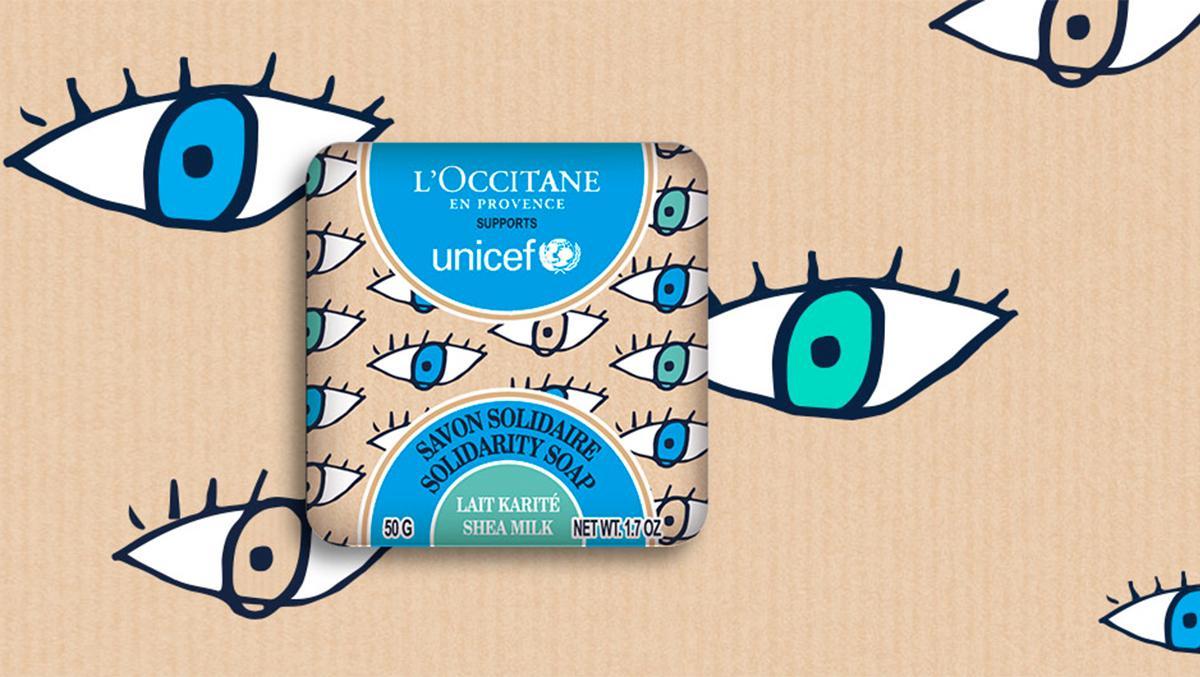 solidarity soap l'occitane