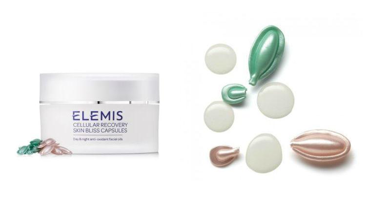 elemis skincare product pods