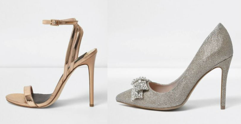 river island bridal shoes