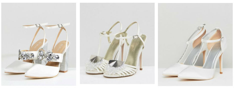 asos bridal shoes
