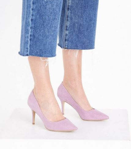 new look lilac shoes ss18