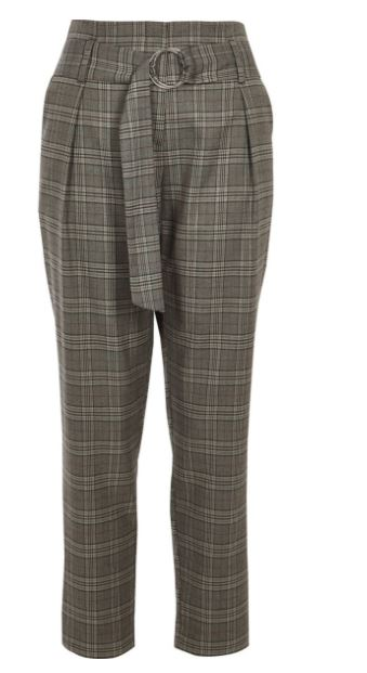 Everyone S Wearing Them 5 Of The Chicest Checked Trousers On The High Street Beaut Ie