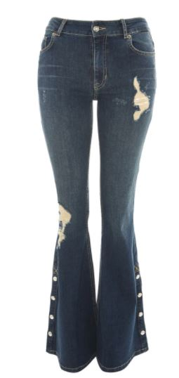 topshop flared jeans style