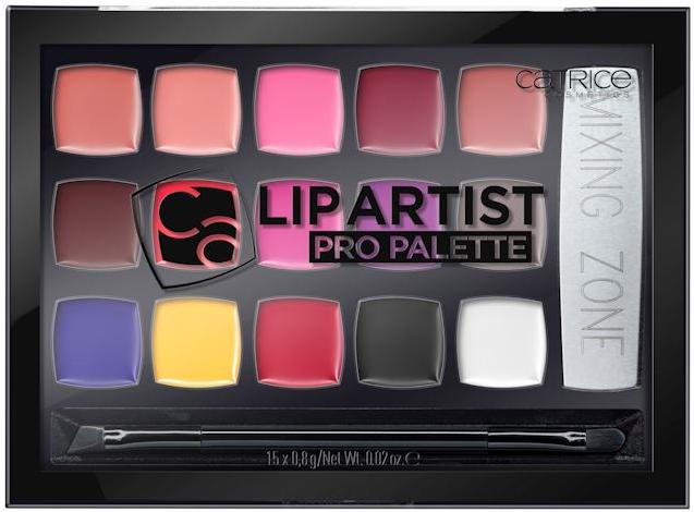dupe Anastasia Beverly Hills catrice-lip-artist-pro-palette