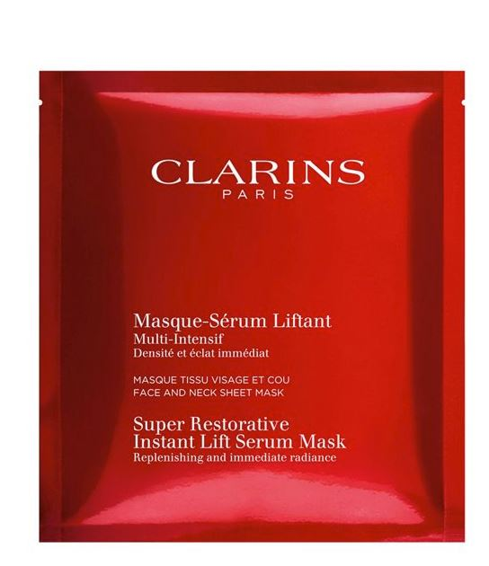 clarins sheet masks