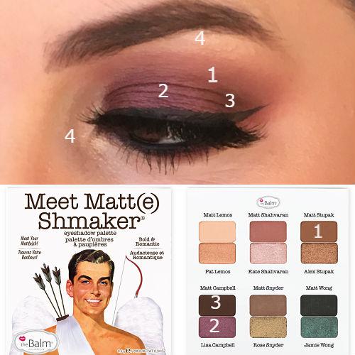 Meet Matte Shmaker eye look