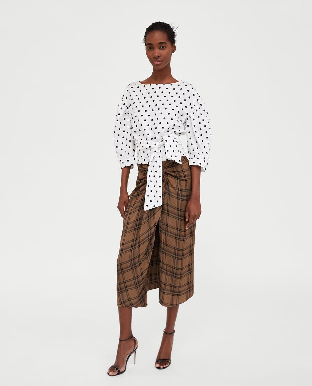 7739686046 Zara Midi Jeans Skirt - raveitsafe