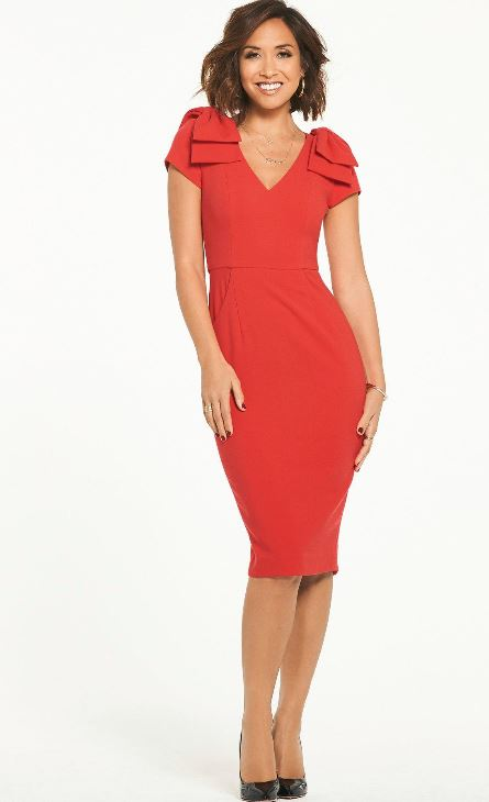 myleene little red dresses