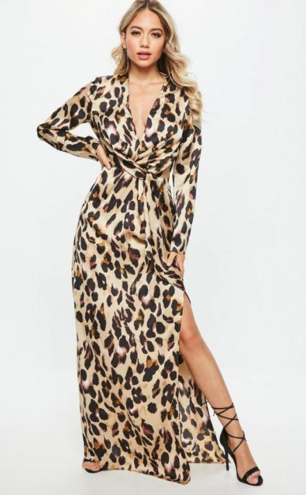 Leopard Print Maxi: Animal Print of the Moment!