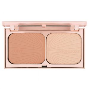 charlotte tilbury  powder highlighter oily pale skin