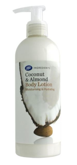 coconut almond body lotion