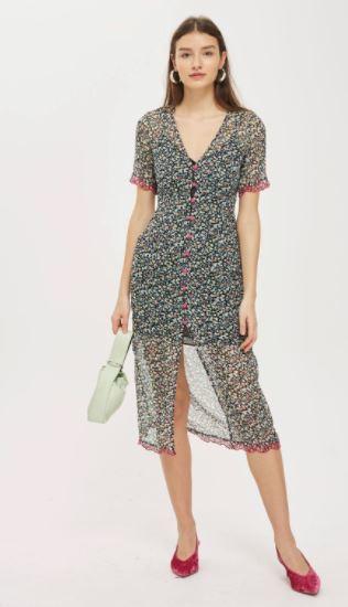 topshop selena gomez dress