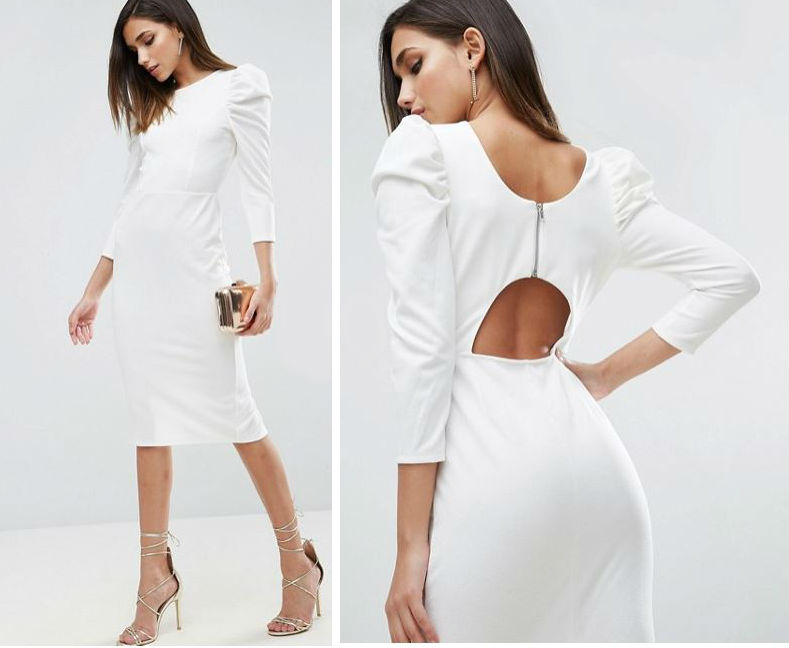 This hen party / 2nd day white dress is €34 and perfect for both ...