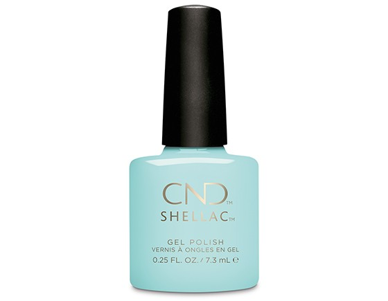 CND Shellac Taffy something blue