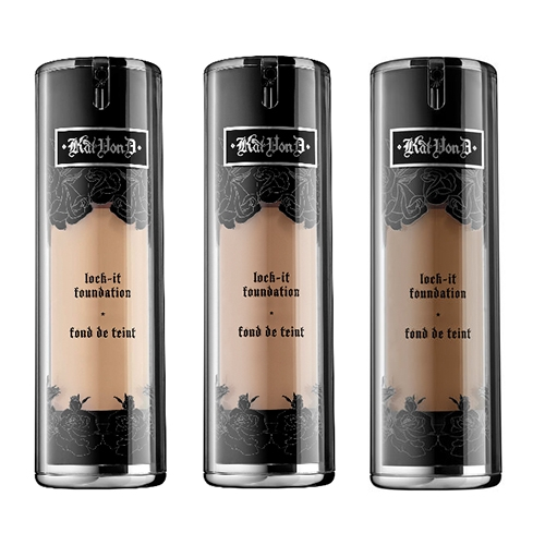 high coverage foundations Kat Von D