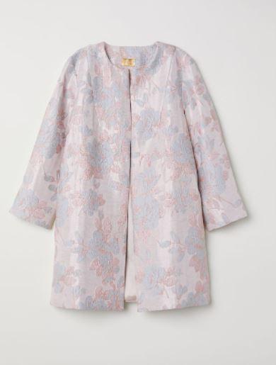Jacquard-weave coat €69.99