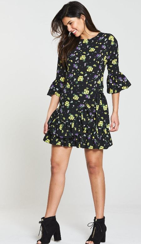 littlewoods ireland v by very holly willoughby dress