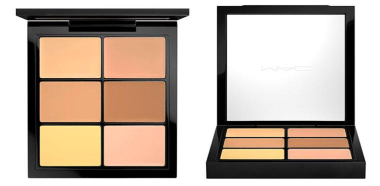 MAC concealer palettes