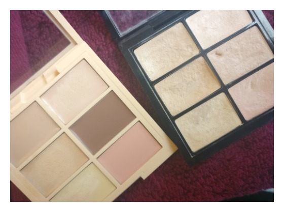 concealer palettes photo NYX MAC