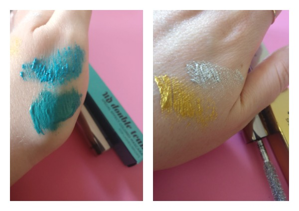 Urban Decay Double Team mascara swatches