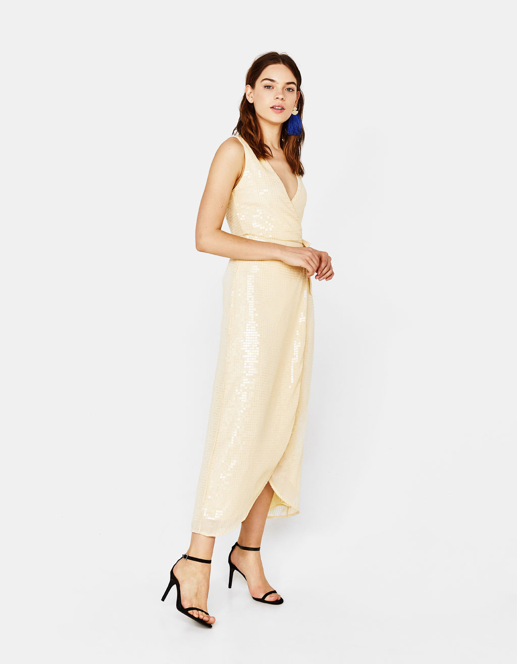 bershka high street wedding guest dresses