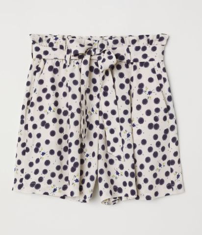 anna glover x hm shorts pippa o connor look